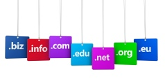Variety of domain names available